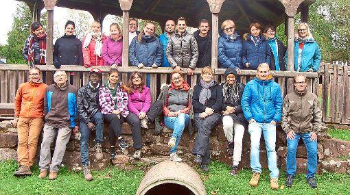 Viel Spaß haben die Azubis mit ihren Ausbildern des Awo-Seniorenzentrums Am Stadtpark beim erlebnispädagogischen Azubi-Tag.  Foto: Seniorenzentrum Foto: Schwarzwälder-Bote