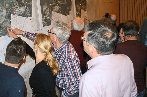 Auf großes Interesse bei den Dormettingern sind die Pläne für eine Umgehungsstraße gestoßen.  Foto: Hertle Foto: Schwarzwälder Bote