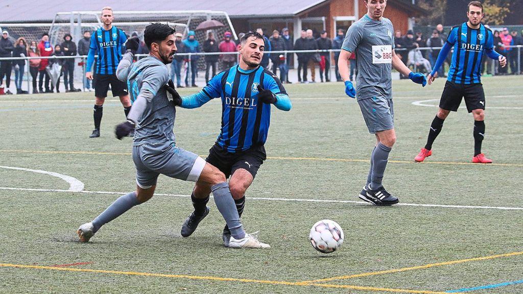 Fußball: VfL Nagold: Nicht mal Ehrentreffer gelingt - Schwarzwälder Bote