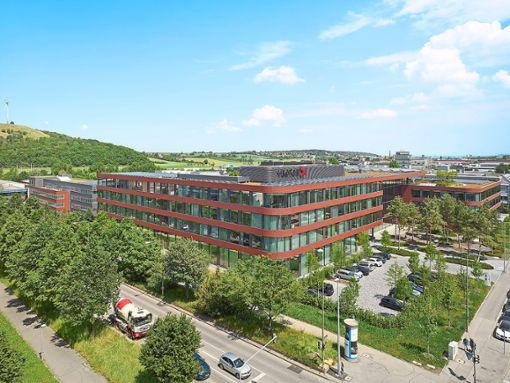 Der IT Campus, die Unternehmnenszentrale von Vector Informatik.  Foto: Halbe Foto: Schwarzwälder Bote
