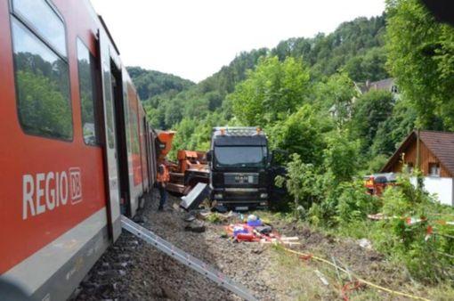 Ein schweres Zugunglück hatte sich 2014 am Bahnübergang in Talhausen ereignet. Foto: Schwarzwälder Bote