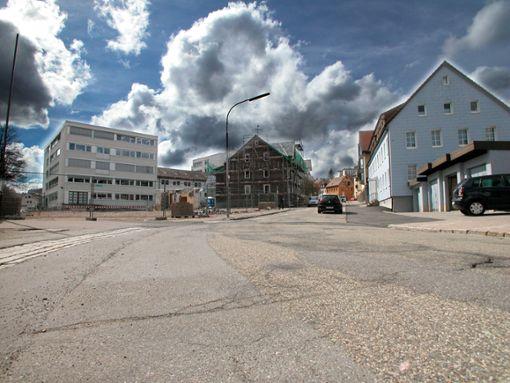 Zur Großbaustelle wird bald die Baumannstraße und die angrenzende Bahnhofstraße.    Foto: Liebau