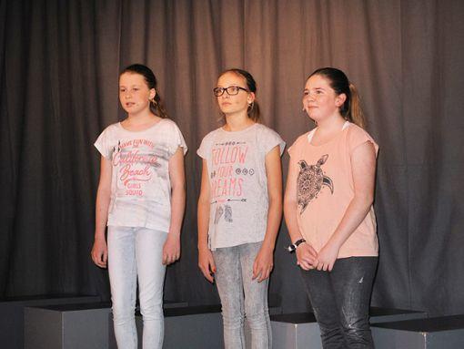 Die Schüler der Musical-AG haben das Stück Schrei nach Liebe selbst entwickelt. Foto: Schwarzwälder Bote
