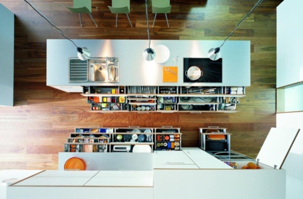 Heutzutage Muss Die Küche Groß, Offen Und Sehr Schick Gestaltet Sein. Foto:  StN