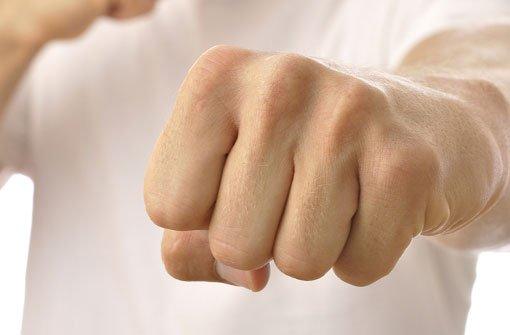 Aus einem anfänglichen Gerangel entwickelte sich eine handfeste Auseinandersetzung unter Einsatz von Fäusten. (Symbolfoto) Foto: Chad Zuber/Shutterstock