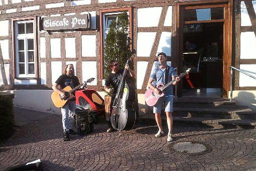 Straßenmusikanten wie die Gruppe nPEP werden beim ersten Ergenzinger Kreativmarkt für  Furore sorgen.  Foto: privat Foto: Schwarzwälder-Bote