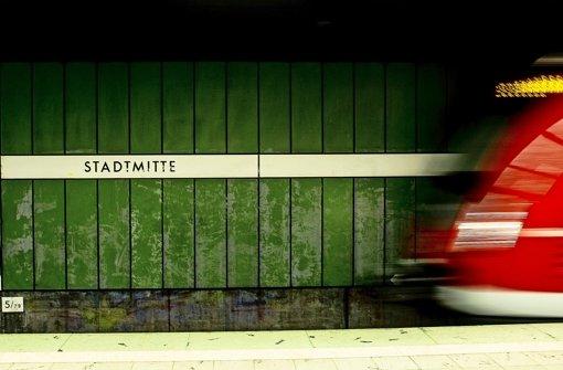 An der S-Bahn-Haltestelle kam es in der Nacht zum Mittwoch zum Einsatz von Pfefferspray (Archivfoto). Foto: Lichtgut/Leif Piechowski