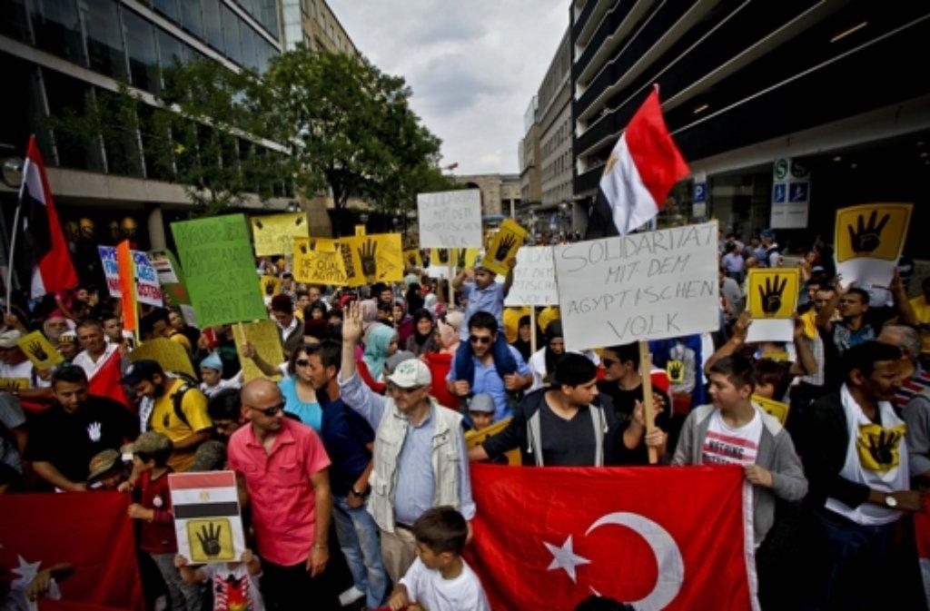 Bildergebnis für muslimbrüder deutschland demonstration