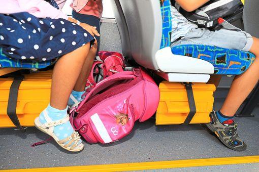 Kinder aus Würzbach brauchen momentan viel Geduld, wenn sie eine Schule in Bad Wildbad besuchen.  Symbolbild: dpa/Gercke Foto: Schwarzwälder Bote
