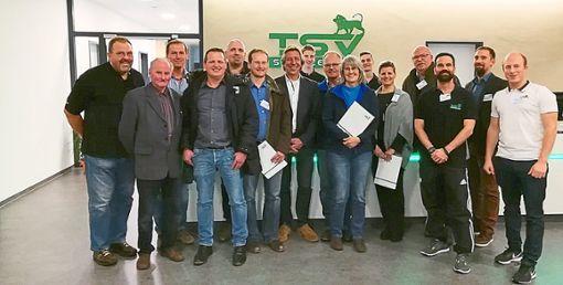 Mit starken und zuverlässigen Partnern an seiner Seite möchte der TSV sein neues Sponsoring-Konzept verwirklichen.   Foto: Schmid Foto: Schwarzwälder Bote
