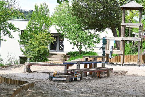 Das Außengelände des Kindergartens kann nach wie vor genutzt werden.   Foto: Stadt Altensteig