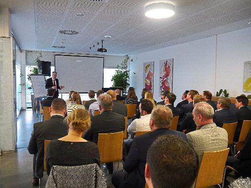 Bei Frank plastic in Salzstetten fand eine Fachtagung zur schnellen Markteinführung von Produkten statt.   Foto: Unternehmen Foto: Schwarzwälder-Bote