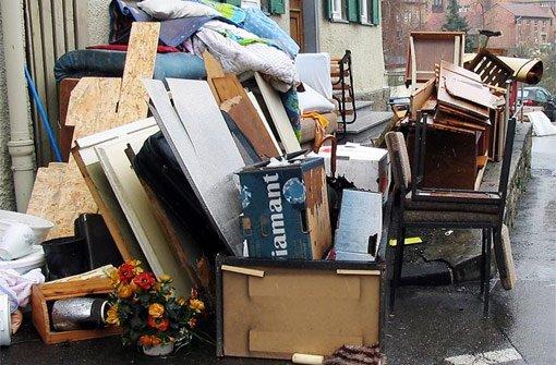 Die Polizei warnt vor illegalen Sperrmüll-Sammlern. Foto: Archiv/Symbolfoto