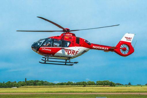 Der Hubschrauber Christoph 11 ist besonders gefragt – auch im Nachteinsatz. Foto: DRF Luftrettung/Gloeckner