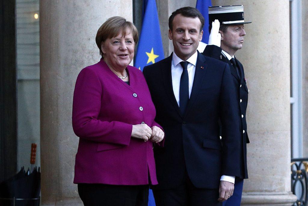 Merkel und Macron kündigen vertiefte Zusammenarbeit an