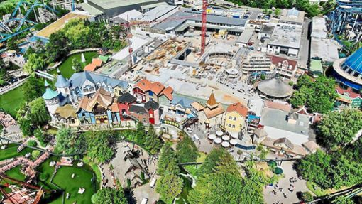 Das Skandinavische Dorf ist wieder für Besucher geöffnet. Foto: Europa Park