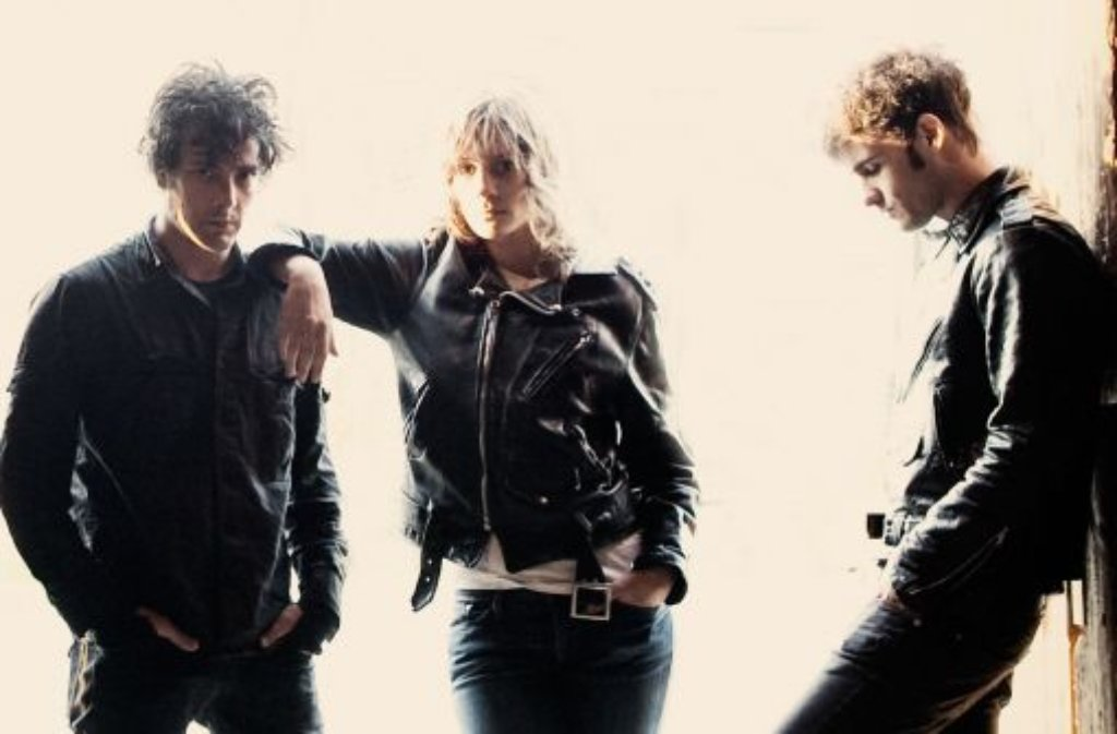 Peter Hayes, Leah Shapiro und Robert Levon Been sind der Black Rebel Motorcycle Club Foto: Promo
