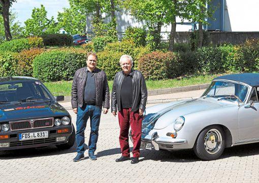 Bei der Rallye ADAC Württemberg Historic am kommenden Wochenende in Freudenstadt starten Horst Randecker und Sohn Robin aus Dornstetten mit einem Porsche 356 SC Cabrio und einem Lancia Delta. Foto: Ade