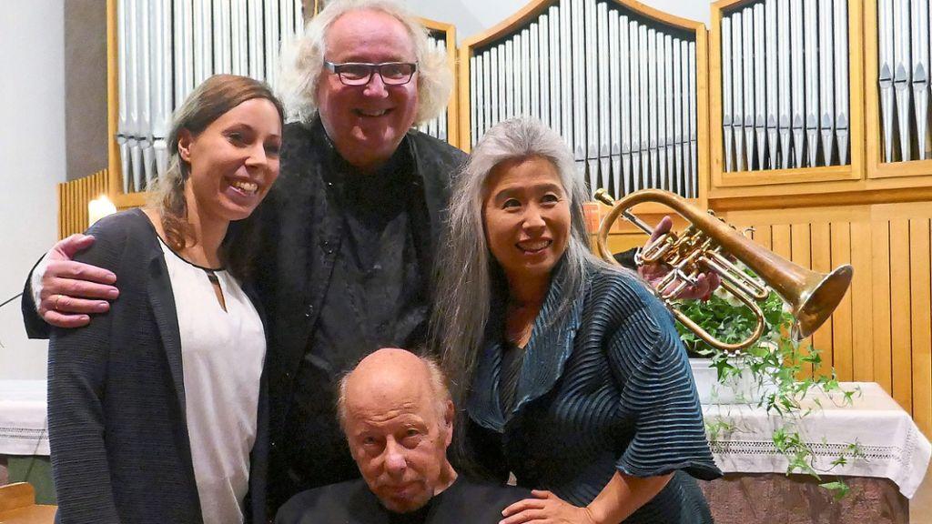Baiersbronn: Duo bietet einzigartiges Hörerlebnis - Baiersbronn - Schwarzwälder Bote