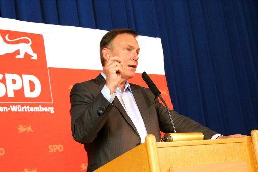 Deutschland darf sich nicht abhängen lassen, mahnte der SPD-Fraktionsvorsitzende Thomas Oppermann in Bisingen.   Foto: Brenner
