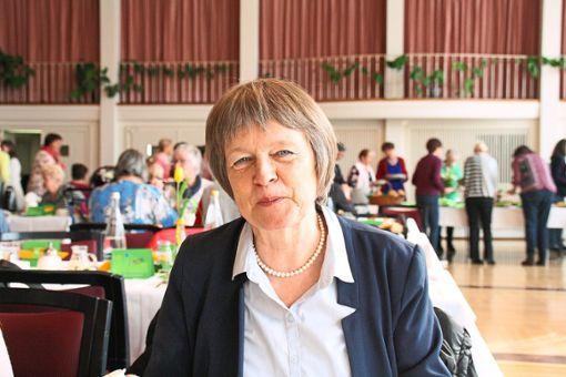 Cornelia Mack referierte beim Frauenfrühstück im Kurhaus.   Foto: Privat Foto: Schwarzwälder Bote