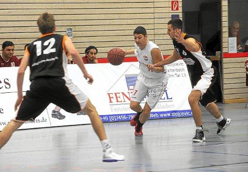 In Möhringen wollen die KKK-Basketballer noch einmal Dampf machen und mit einem Sieg das Finalturnier erreichen.   Foto: Fritsch Foto: Schwarzwälder-Bote