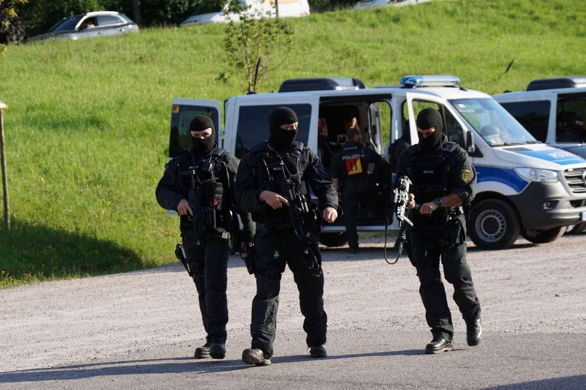 Gesuchter Bewaffneter im Schwarzwald gefasst