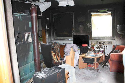 Die Familie Schillinge hat bei dem Brand ihres Hauses so gut wie alles verloren. Foto: Baltzer