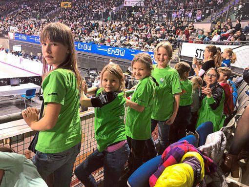 Der TSV-Nachwuchs war den Vorbildern sehr nah.  Foto: TSV Foto: Schwarzwälder Bote
