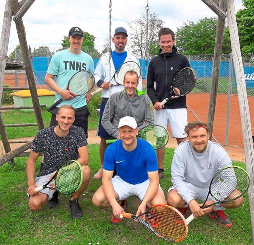 Die Herren I des TC Rottweil sind mit zwei Siegen in der Bezirksoberliga im Soll.  Foto: Frei Foto: Schwarzwälder Bote