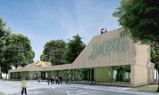 So soll das neue Balinger Jugendhaus aussehen. Foto: Büro berger röcker gork