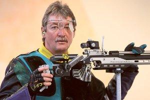 Manfred Klotz vom SV Rohrdorf fehlte im Stechen das Quäntchen Glück. Foto: Kraushaar Foto: Schwarzwälder-Bote