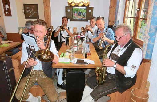 Die Notenquäler in Aktion.  Foto: Botzenhart Foto: Schwarzwälder Bote