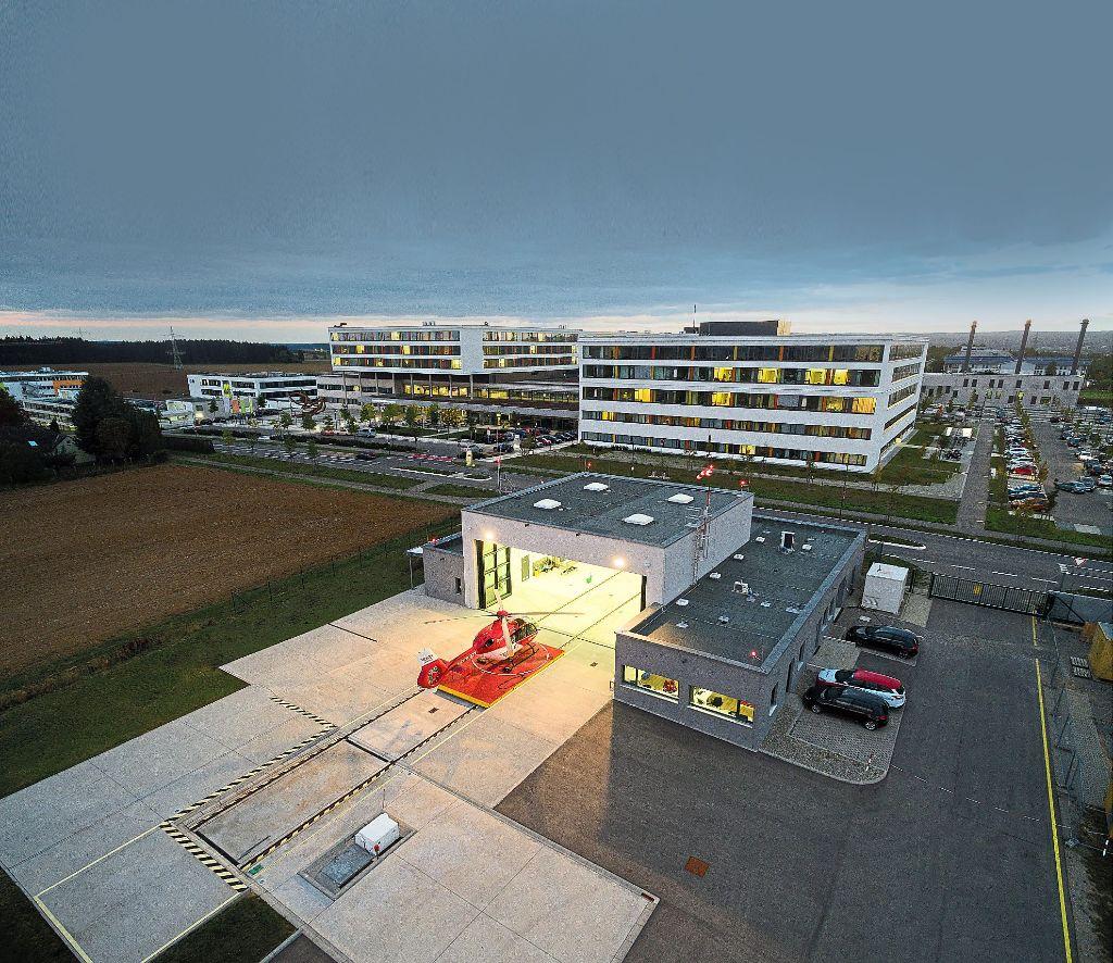 Villingen-Schwenningen: Hubschrauber-Landeplatz auf Zielgerade ...