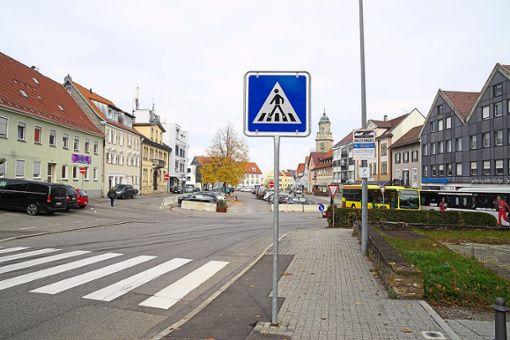 Auch Fußgänger sollen sich auf dem Obertorplatz wohlfühlen. Mit welchem Plan das gelingt, steht derzeit wohl noch nicht fest.    Foto: Stopper Foto: Schwarzwälder Bote