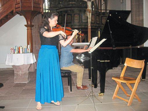 Junge Künstler zeigen in der Wildberger Martinskirche ihr Können.  Foto: Archiv Foto: Schwarzwälder Bote