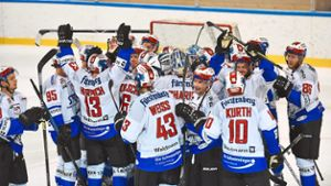 Eishockey: Wild Wings jubeln in Kreuzlingen