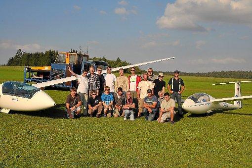 Sichtlich wohl fühlten sich die Mitglieder des Aeroclubs Langeselbold in Musbach.