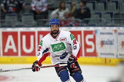 Dominik Bittner läuft ab der Saison 2017/18 bei den Schwenninger Wild Wings auf. Foto: Eibner