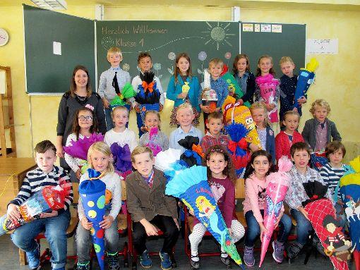 Schulanfänger Beuron-Hausen im Tal und Schwenningen. Foto: Schule