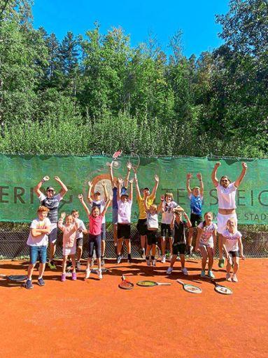 Altensteig Wurtt 14 Jugendliche Beim Tennis Camp In Altensteig Altensteig Umgebung Schwarzwalder Bote