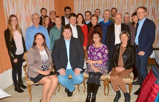 Breites Angebot: Die Kandidaten der FDP für die Wahl zum Balinger Gemeinderat.    Foto: Privat