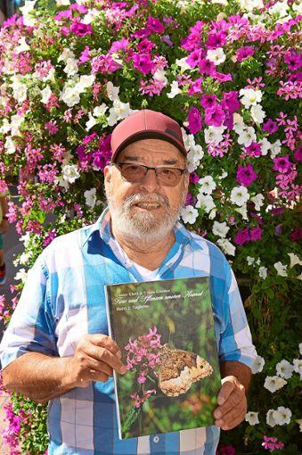 Günter Ebert ist in großer Sorge um die heimischen Schmetterlinge.  Foto: Fritsche Foto: Schwarzwälder Bote