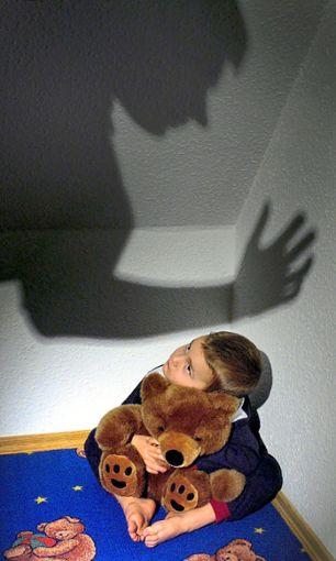 Verängstigtes Kind (Symbolfoto)  Foto: Pleul