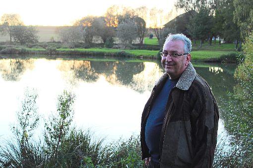 Dietmar Hoppe ist der einige Bürgermeisterkandidat aus Dommelsberg.  Foto: Baum Foto: Schwarzwälder-Bote