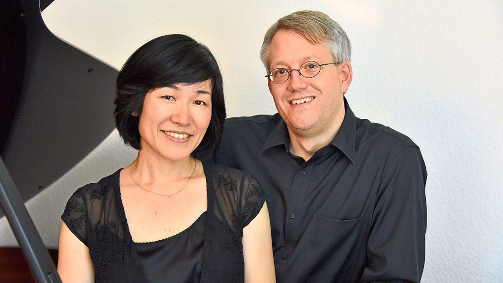 Wildberg: Klavierduo spielt in der Musikschule sein exklusives Programm Robert und Clara Schumann - Wildberg - Schwarzwälder Bote
