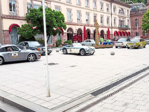 Die Bad Wildbader Innenstadt bot die perfekte Kulisse für die Black Forest Classic.  Fotos: Dörr Foto: Schwarzwälder-Bote