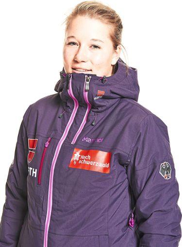 Jana Fischer freut sich nun auf den Heim-Weltcup auf dem Feldberg.  Foto: Kraus Foto: Schwarzwälder Bote