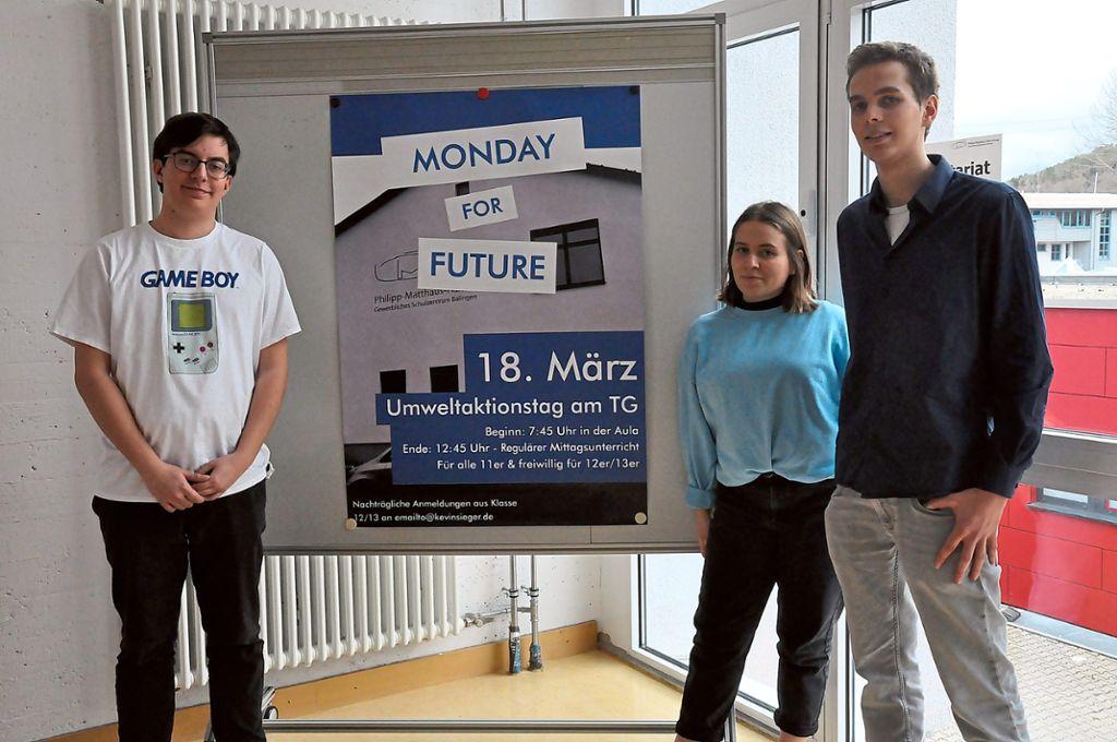 Monday for Future - Schüler beschäftigen sich mit Klimaschutz