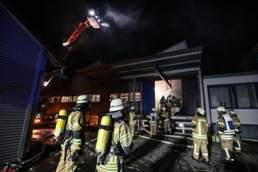 In einer Schwenninger Firma hat es gebrannt. Foto: Marc Eich